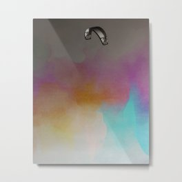 Parakite Warm 2 (watercolor mashup lite) Metal Print
