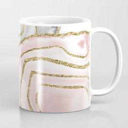 Yin Yang Agate Gold Glam #1 #gem #decor #art #society6 Coffee Mug