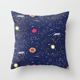 Way to Earth Throw Pillow