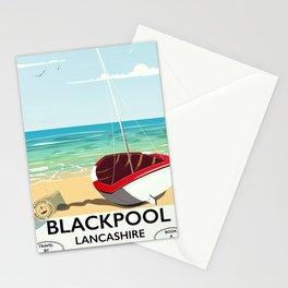 Blackpool, Lancashire, Rail poster Stationery Cards