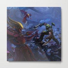 Doom Eternal game Metal Print