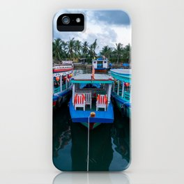 River Boats, Hoi An iPhone Case