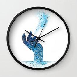 Hand of Magic Wall Clock