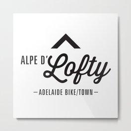 Alpe D'Lofty Metal Print