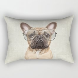 Mr French Bulldog Rectangular Pillow