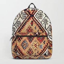 Songhor Hamadan West Persian Kelleh Rug Print Backpack