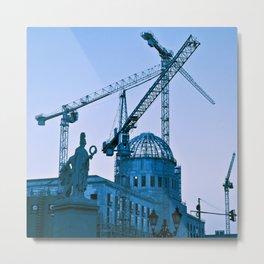 TRUE BLUE - BERLIN URBAN SPIRIT Metal Print
