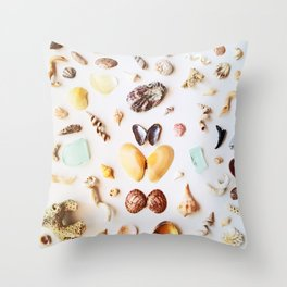 Tiny Horsey Throw Pillow