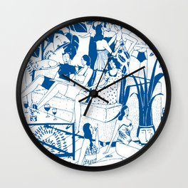 Party I Wall Clock