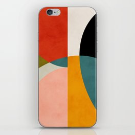 geometry shapes 3 iPhone Skin