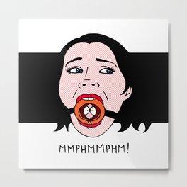 MMPHMMPHM! Metal Print