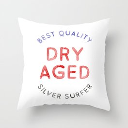 DRY AGED Throw Pillow