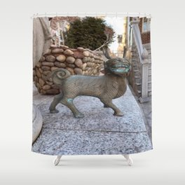 Guardians All Around Us Shower Curtain