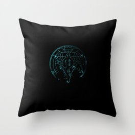 fullmetal alchemist blue Throw Pillow
