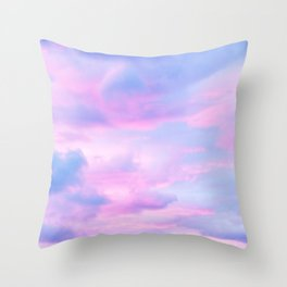 Clouds Series 4 Throw Pillow