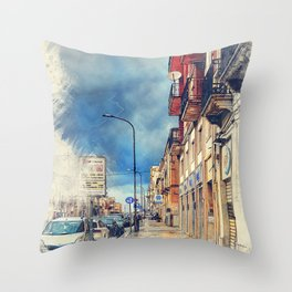Trapani art 20 Sicily Throw Pillow