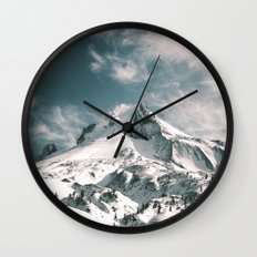 Mount Hood IV Wall Clock