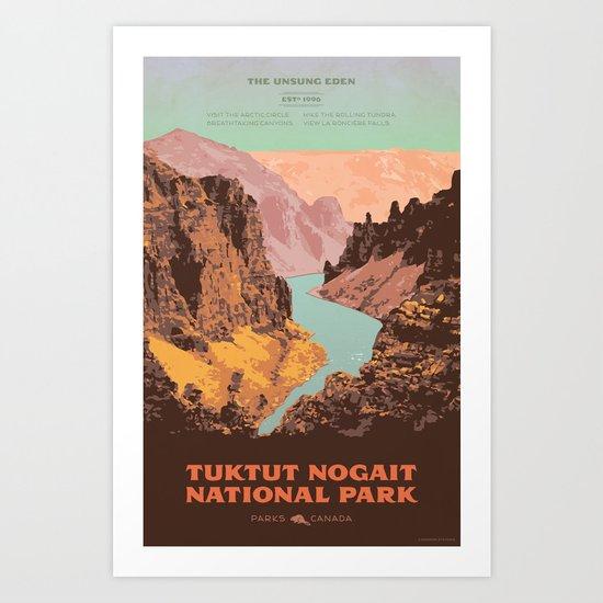 Tuktut Nogait National Park by cameronstevens