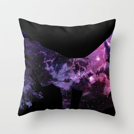 Space Probe Throw Pillow