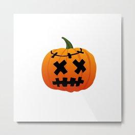 Halloween. Pumpkin. Metal Print
