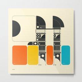 SYSTEMS (2) Metal Print