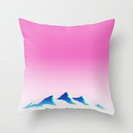 Mountain Aesthetic 1 Throw Pillow