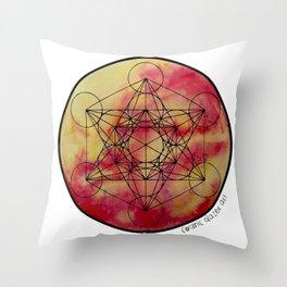 Solara Metatron Throw Pillow