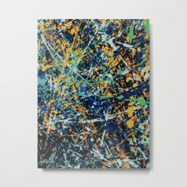 Abstract Composition 707 Metal Print