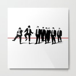 Reservoir Brothers Metal Print