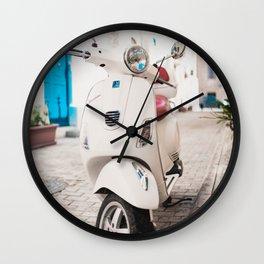Valletta Streets Wall Clock