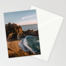 Mcway Falls at Sunset Stationery Cards