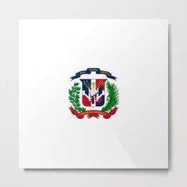 seal of the dominican republic-dominican,hispaniola,dominicana,antilles,caribean,santo domingo Metal Print