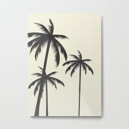 Palm Trees No.1 Metal Print