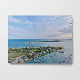 Brant Point, Nantucket Metal Print