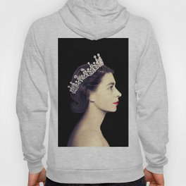 HRH QUEEN ELIZABETH II - THE YOUNG QUEEN IN PROFILE Hoody