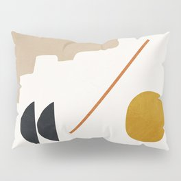 abstract minimal 6 Pillow Sham