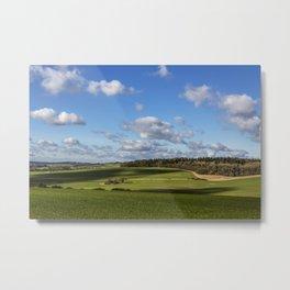 Views of Wiltshire. Metal Print