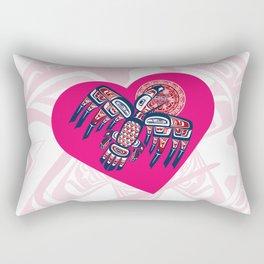 Heart - Raven Steals The Sun Rectangular Pillow