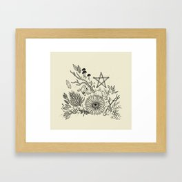 Magic Altar Framed Art Print