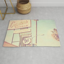 Los Angeles. Canters Deli photograph Rug
