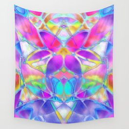 Floral Fractal Art G307 Wall Tapestry
