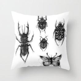 Cacography in Entomology Throw Pillow