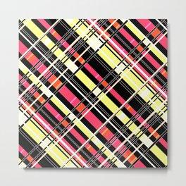 Striped pattern 12 Metal Print