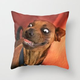 """I have a """"God-Given Right"""" to bear teeth. 3 Throw Pillow"""