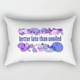 Doterra Better Late Than Unoiled Rectangular Pillow