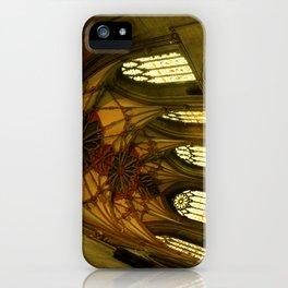 Tewkesbury Abbey iPhone Case