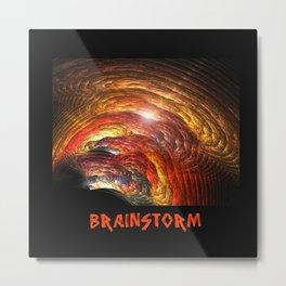 Brainstorm Metal Print