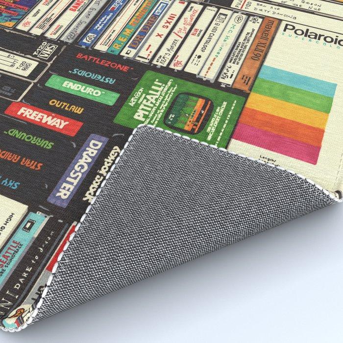 Cassettes, VHS & Games Rug