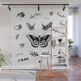 Harry's Tattoos Two Wall Mural