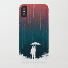 Meteoric rainfall iPhone X Slim Case